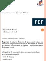 Clases Totales Ingeniería Economica