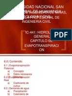 Cap v - Evapotranspiracion