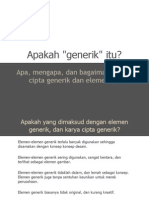 Generic Design Presentation - Indonesian