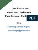 Peranan Faktor Host Agent dan Lingkungan Pada Penyakit Flu Burung
