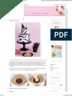 Cakes Haute Couture - Recetas