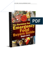 The Emergency Food Buyer s Guide V10