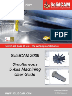 SolidCAM 2009 5 Axis User Guide