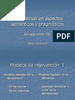 Intervencion en Aspectos Semanticos y Pragmaticos