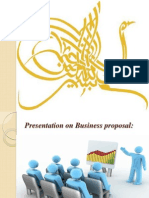 Bussiness Proposal