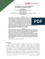 MINHOTO_Utilização de Wikis como recurso pedagógico Use of Wikis as educational resource