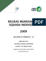 Squash 2009 Portuguese Rules