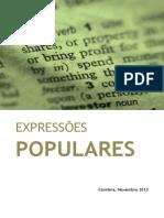 TIC - Texto Apoio (Expressoes Populares)
