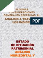 3 Indices de Analisis Julio 2005
