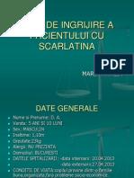 Plan de Ingrijire Scarlatina