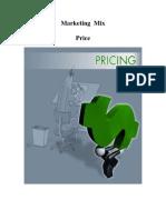 Marketing Mix - Price