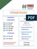Contribuição Associativa - 2014