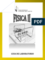 Manual Del Laboratorio de Fisica 2
