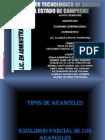 Diapositiva de Aranceles
