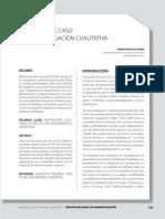 El estudio de caso en la investigación cualitativa