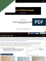 GSA Global LTE Market Update 010813
