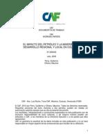 CAF_El impacto del petróleo y laminería en el desarrollo regional