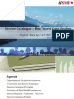 02 Blaine Bey - Service Catalogue Real World Case Studies