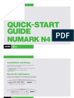 Numark N4 Quickstart Guide for Serato DJ