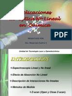Aplicaciones de Optica No Lineal en Química
