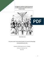 Cosso, Pablo (tesis antropológica)-Experiencias religiosas y prácticas rituales en la RCC salteña.
