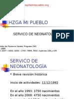 Servicio Neonatología - Hospital Mi Pueblo