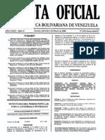 Www.cpzulia.org ARCHIVOS Gac Ofic Extraord 5873 06-02-08