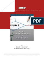 COSO-ERM Risk Assessment InPractice Thought Paper OCtober 2012