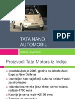 Tata Nano Automobil
