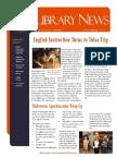 Library News November 2013