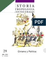 U. Barcelona - Cinismo y Política