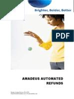 Amadeus Automated Refund Steps
