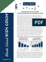 RIKC High School Graduation Issue Brief-Nov 2013 (1)