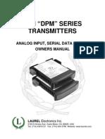 LTM Manual Analog In