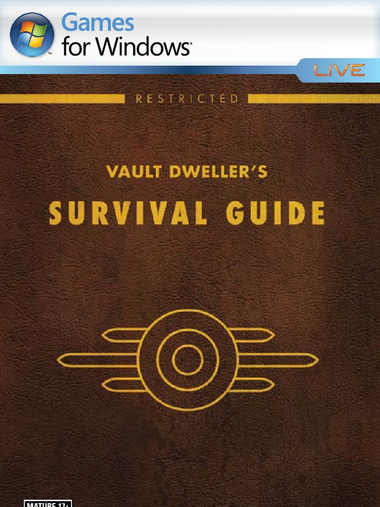 Fallout 3 PC Manual | Epilepsy | Leisure | Free 30-day