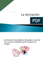 La derivación