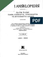 Islam Ansiklopedisi (MEB) Cilt 07 LABBAY-MESANI (1997) 809s 57 MB