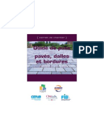 Guide de Pose Paves Dalles Et Bordures