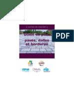 Guide de Pose Paves Dalles Et Bordures
