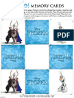 Disney Frozen Anna Papercraft Craft Printable 0913