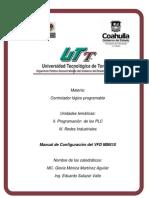 Manual configuración VFD MM410