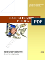 ! Buget Si Trezorerie Publica