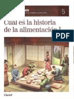 5.- Cuál es la historia de la alimentación I