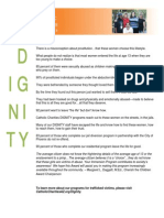 Catholic Charities Dignity Program