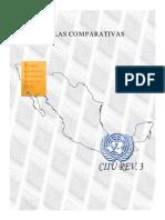 Tablas Comparativas Entre El SCIAN y Otros Clasificadores (PARTE II)