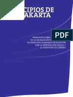 Principios de Yogyakarta Derechos Humanos