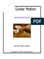 Jazz Guitar Motion