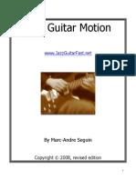 Jazz Guitar Motion