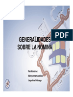 Generalidades Sobre La Nomina Contraloria Merida