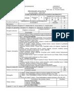 Programa Probabilitati 2008-2009
